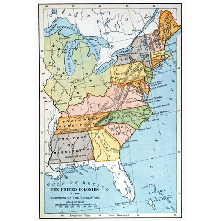 United States Map C1791 Nmap Of The United States As It Appeared Following  The Admission Of Vermont As The Fourteenth State In 1791 Showing Changes In  ...