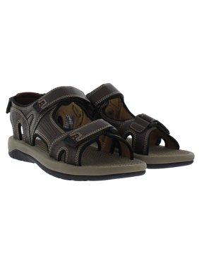 Khombu Men's Comfort Sandal - Walking Sandals Comfortable Athletic - Hiking - Outdoors - Water - Trekking