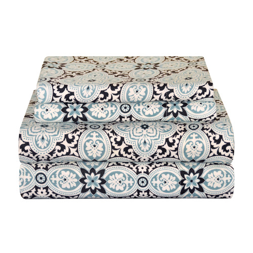 Pointehaven Ankara Cotton Sheet Set