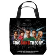 Big Bang Theory Group Spark Tote Bag White 18X18