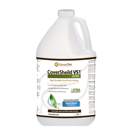 Covershield Vs1 Gloss Vct And Terrazzo Sealer Fast Drying Highly Durable Long Lasting 1 Gal Prof Grade