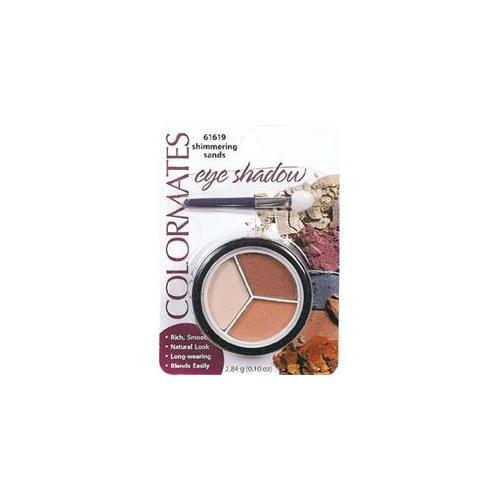 DDI 1187197 Round Eyeshadow Shimmer Sands Case Of 8