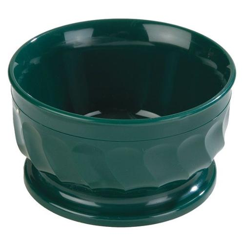 Carlisle Dinex Insulated Bowl, 9 oz., Plastic Hunter Green PK48, DX330008