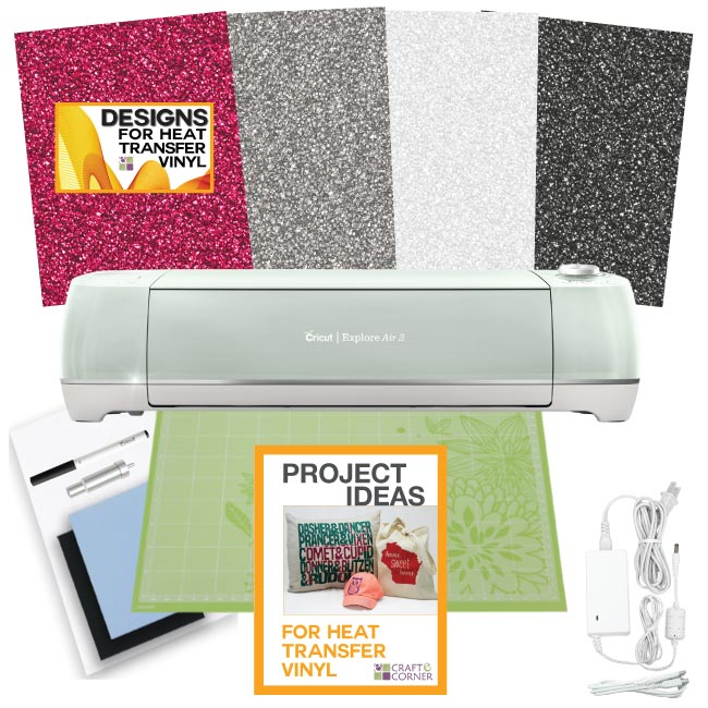 Provo Craft Cricut Explore Air 2 Machine Bundle Glitter H...