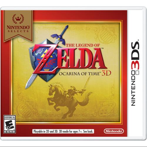 Nintendo The Legend Of Zelda: Ocarina Of Time 3d - Action/adventure Game - Nintendo 3ds (ctrpaqe2)