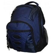 K-Cliffs 16.6 in. Backpack - Navy & Orange