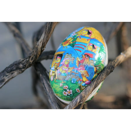 Framed Art for Your Wall Easter Eggs Decorated Easter Eggs Easter 10x13 Frame](Butterfly Eggs For Sale)