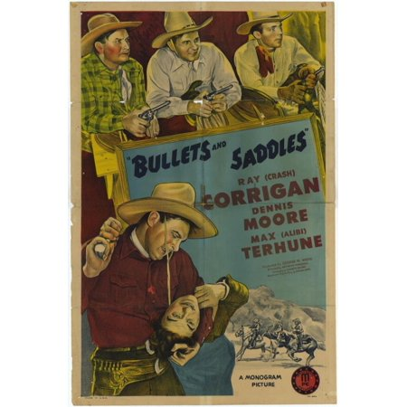 Bullets and Saddles Movie Poster Print (27 x (Bullet Saddle)