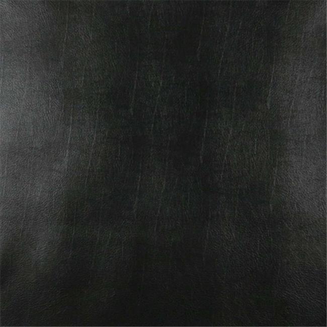 Designer Fabrics G982 54 in. Wide Black Vinyl Fabric