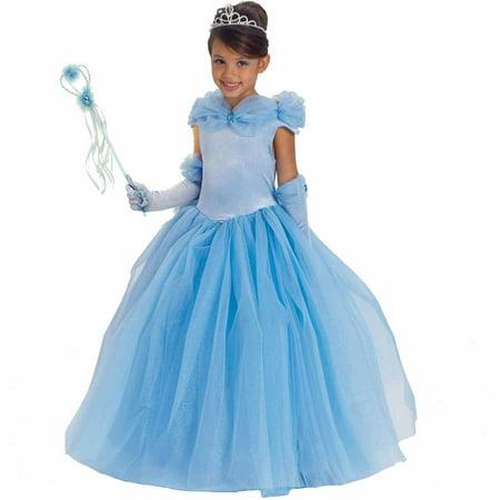 Blue Princess Cynthia Child Halloween Costume - Halloween Belle