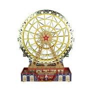 15 mr christmas animated musical led lighted worlds fair grand ferris wheel decoration 79795