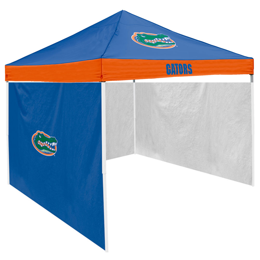 Florida Gators NCAA 9u0027 x 9u0027 Economy 2 Logo Pop-Up Canopy Tailgate Tent With Side Wall - Walmart.com  sc 1 st  Walmart & Florida Gators NCAA 9u0027 x 9u0027 Economy 2 Logo Pop-Up Canopy Tailgate ...