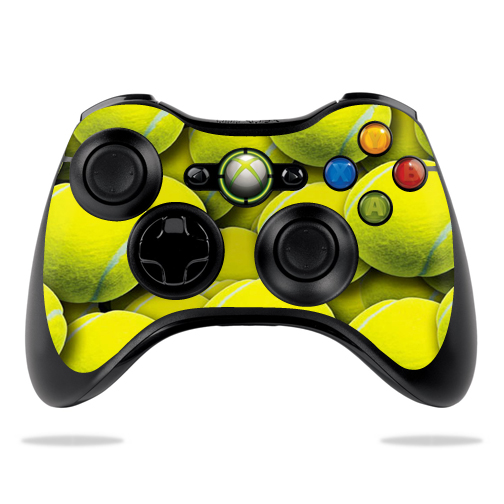 Protective Vinyl Skin Decal Cover for Microsoft Xbox 360 Controller wrap sticker skins Tennis