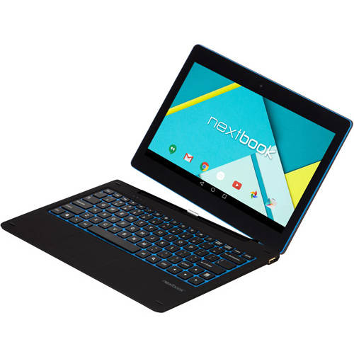 "Nextbook Ares 11.6"" 2-in-1 Tablet 64GB Intel Atom Z3735F Quad-Core Processor Android 5.0"