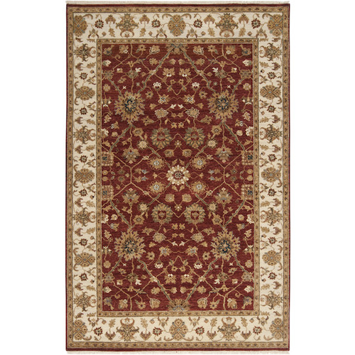 Surya Cambridge Brown/Red Area Rug