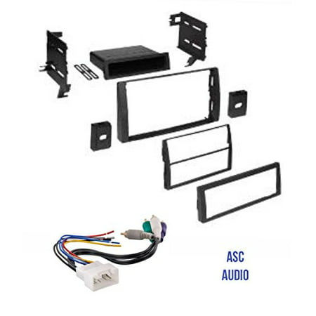 asc audio car stereo dash kit and wire harness for. Black Bedroom Furniture Sets. Home Design Ideas