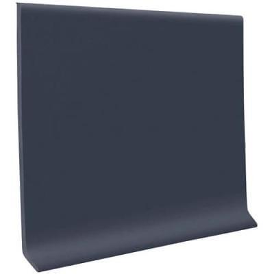 Roppe 700 Series Cove Base 4X4' Black, Carton of 30