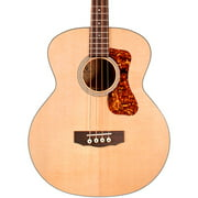 Guild B-140E Westerly Collection Jumbo Acoustic-Electric Bass Guitar Natural