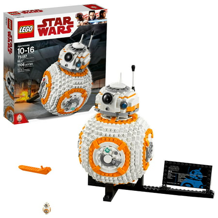 LEGO Star Wars TM BB-8 75187 Building Set (1,106 (Best Lego Sets For 8 Year Old Boy)
