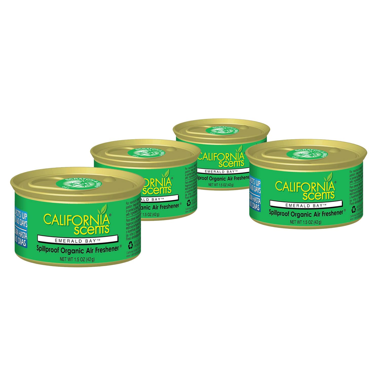 California Scents Air Freshener 4-Pack (Emerald Bay)