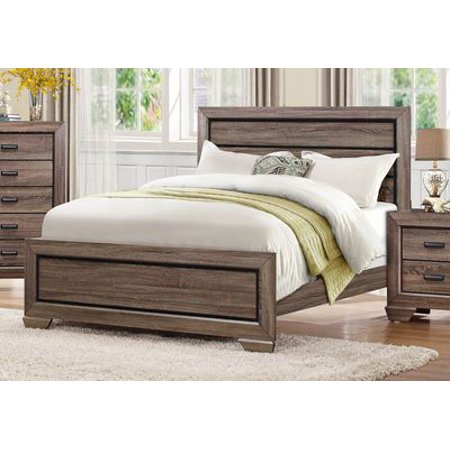 Bainbridge Simple 5 Piece Queen Bedroom Set with Chest in Beechwood ()