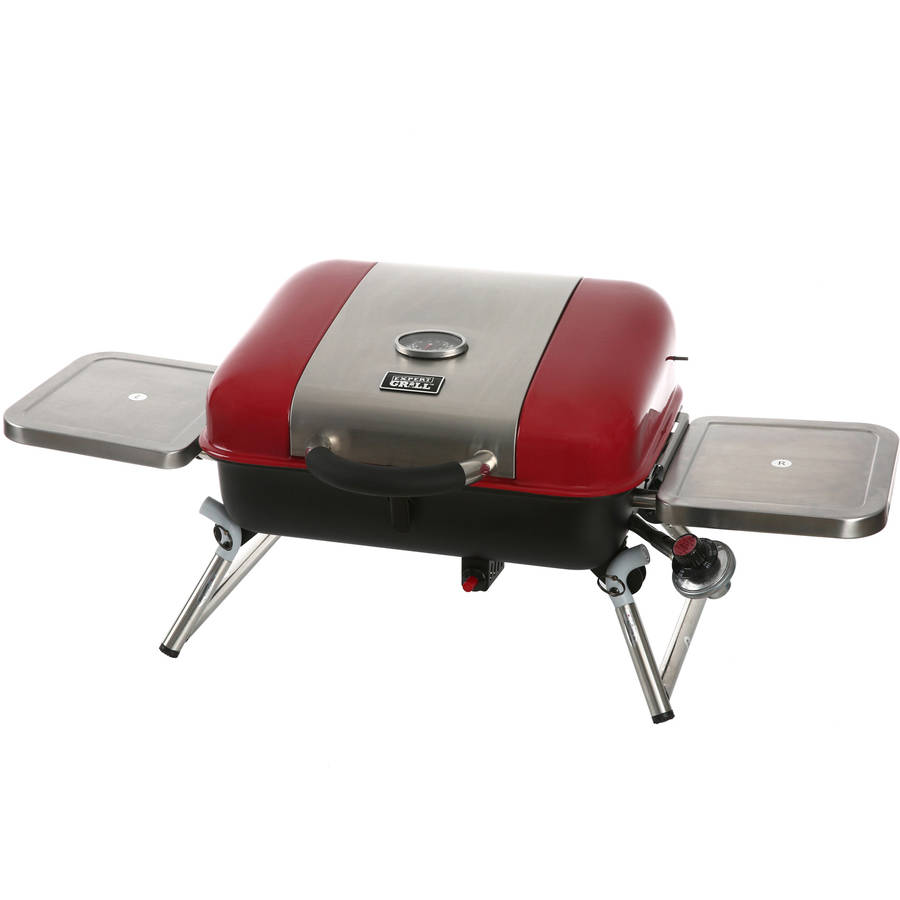 "Expert Grill Tabletop Gas Grill, 18"", Red"