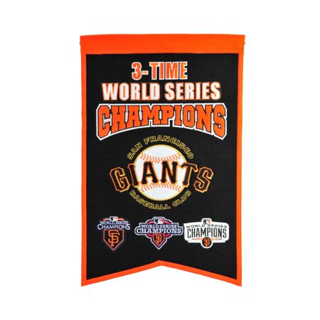 Winning Streak - MLB Champions World Series Banner, San Francisco