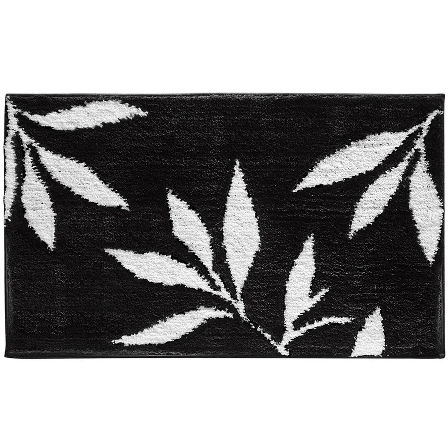 InterDesign Leaves Bath Rug, 34x21
