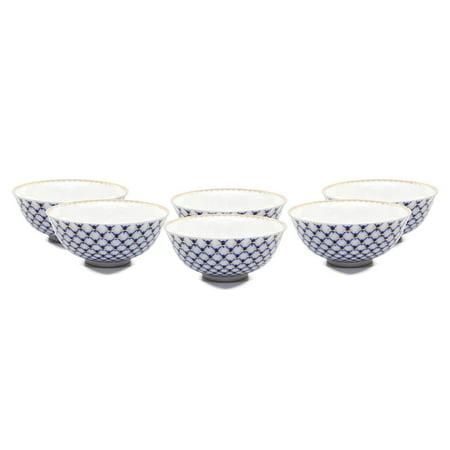 SET of 6 Lomonosov Porcelain Piala 3