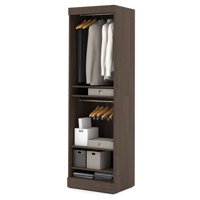 "Nebula by Bestar 25"" Storage Unit with Door in in Antigua"