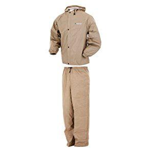 Pro Lite Rain Suit, Khaki (Khaki Cotton Jacket)