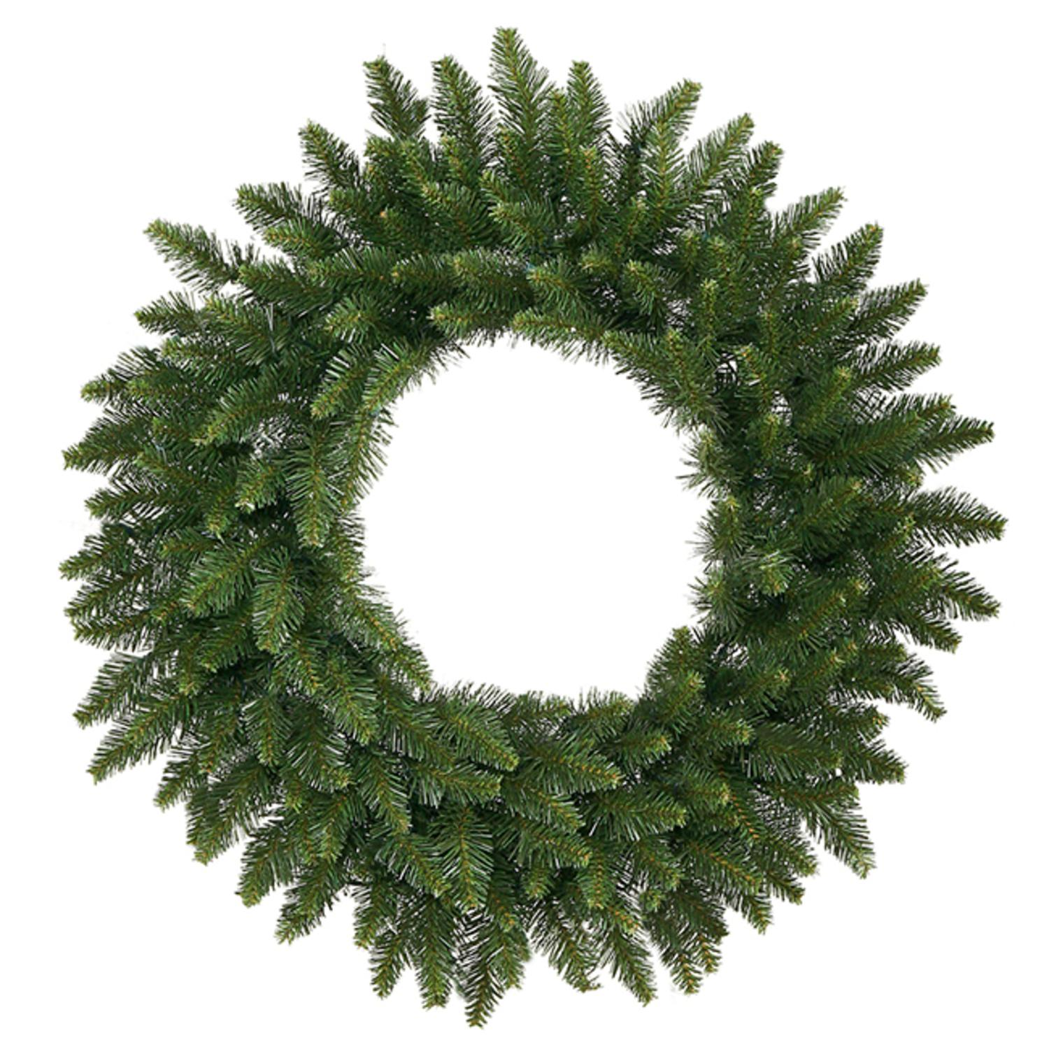 "72"" Camdon Fir Artificial Commercial Christmas Wreath - Unlit"