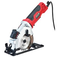 PowerSmart 4-1/2-Inch 4-Amp Electric Compact Circular Saw, Corded, PS4005