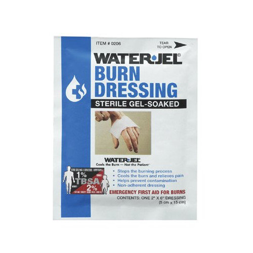 North Safety North Safety - Water Jel Burn Products Water-Jel Dressing2'' X 6'': 068-049078 - water-jel dressing2'' x 6''