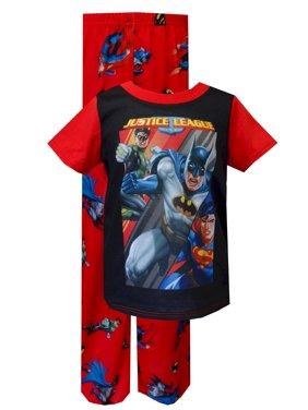 Justice League Batman Green Lantern, Superman Toddler Pajama