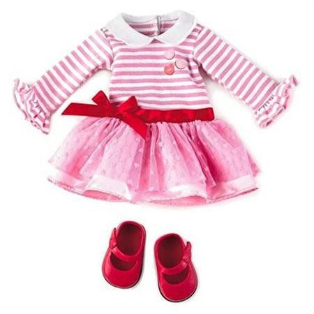 Hallmark Madame Alexander Doll Valentine Outfit