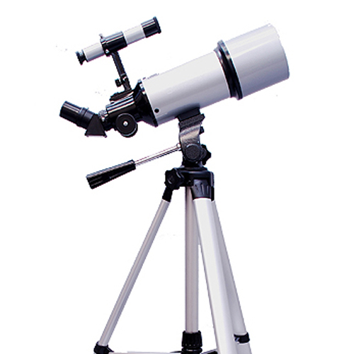 Twinstar 80mm Refractor Telescope with Full Size Tripod, ...