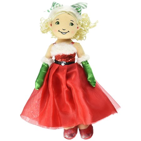 Groovy Girls Vanity - Groovy Girl Christmas Belle Holiday Doll, Measures 3L x 13H x 2W in By Manhattan,USA