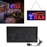 LHCER Super Bright Led Bar Sign Board Pub Club Display Light Lamp for Shop Fronts/Windows, Sign Display Light, Bar Sign Light