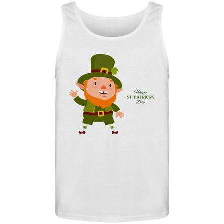 a7c48be35 Teeblox - Leprechaun St.Patrick Day Tank Men's -Image by Shutterstock