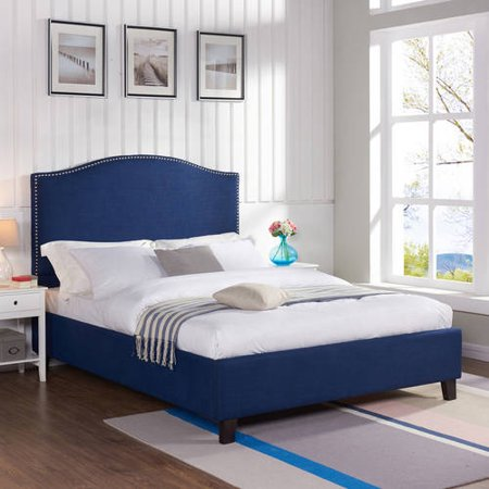 Better Homes and Gardens Grayson Eastern King Bed, Navy
