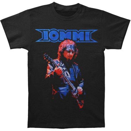 Tony Iommi Men's  Iommi T-shirt Black (Tony Iommi Signature Sg)