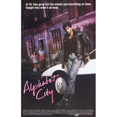 Alphabet City POSTER Movie Mini Promo (Alphabet Halloween)