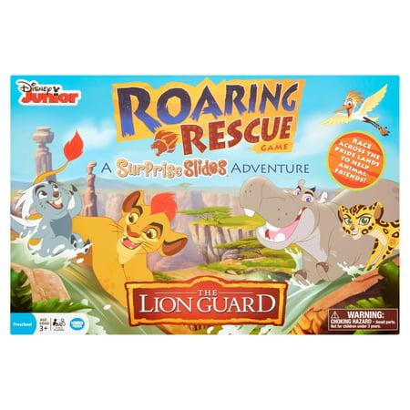 Disney Junior Games Halloween (Wonder Forge Disney Junior The Lion Guard A Surprise Slides Adventure Roaring Rescue Game Age)