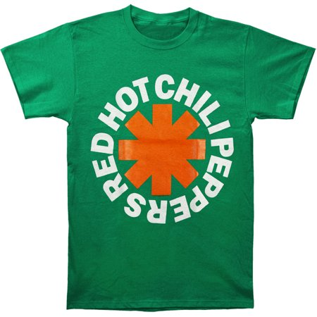 Red Hot Chili Peppers Men's  Asterisk Irish T-shirt (Best Green Chile Cheeseburger In New Mexico)