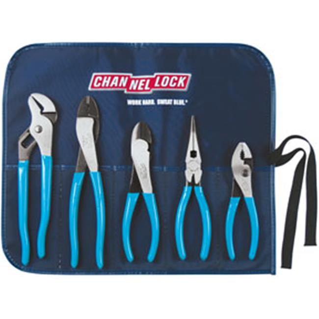Channellock CNL-BAG5 5 Pc. Tool Roll Pliers Set by Channellock