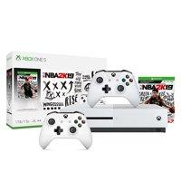 Xbox One S 1Tb NBA 2K19 Bundle + Xbox Wireless Controller - White