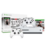 Xbox One S 1Tb NBA 2K19 Bundle + Xbox Wireless Controller - White
