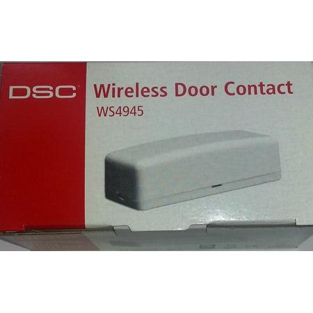 DSC SECURITY WS4945 WIRELESS ALARM DOOR/WINDOW CONTACT/TRANSMITTER ()