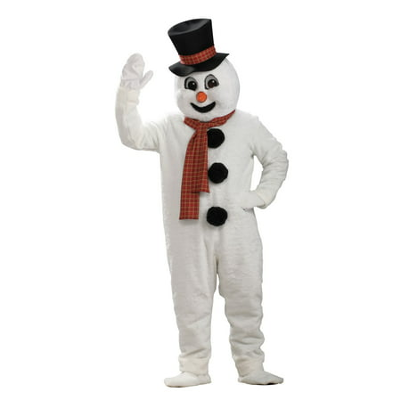 Adult Snowman Mascot Costume - Mascot Suits